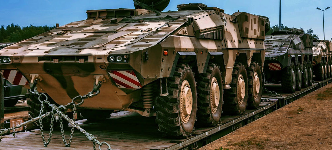 An Overview of the Crating, Packaging and Shipping of Military Assets